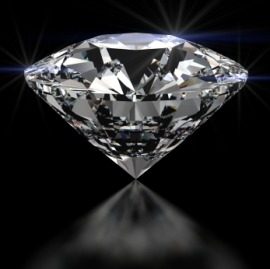 Алмаз диаммета был полученн в 2007 году