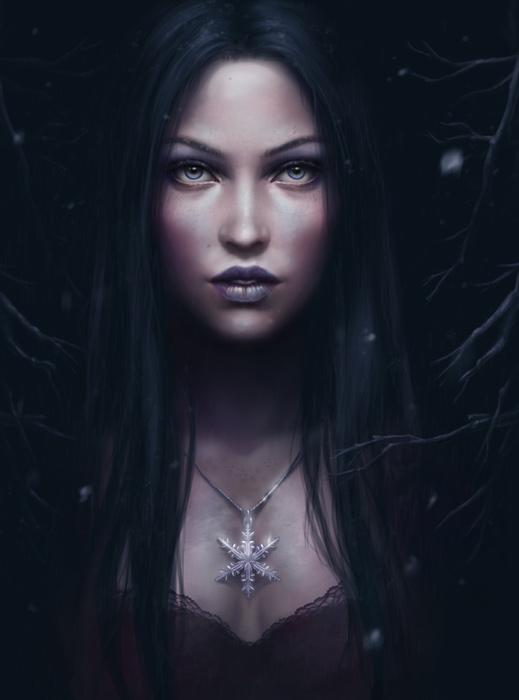 Секс между черным колдуном и ведьмой