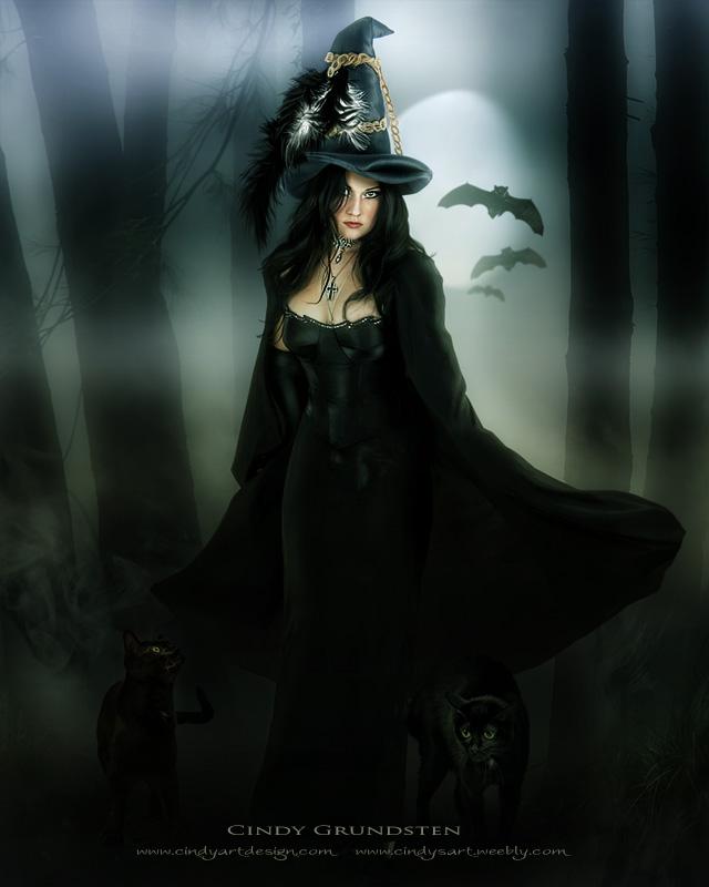 Ведьмы: обои, картинки фэнтези с красивыми