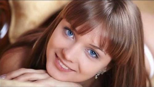 порно фото девушек с голубыми глазами